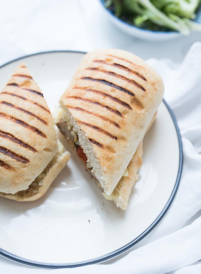 Sausage Panini-5