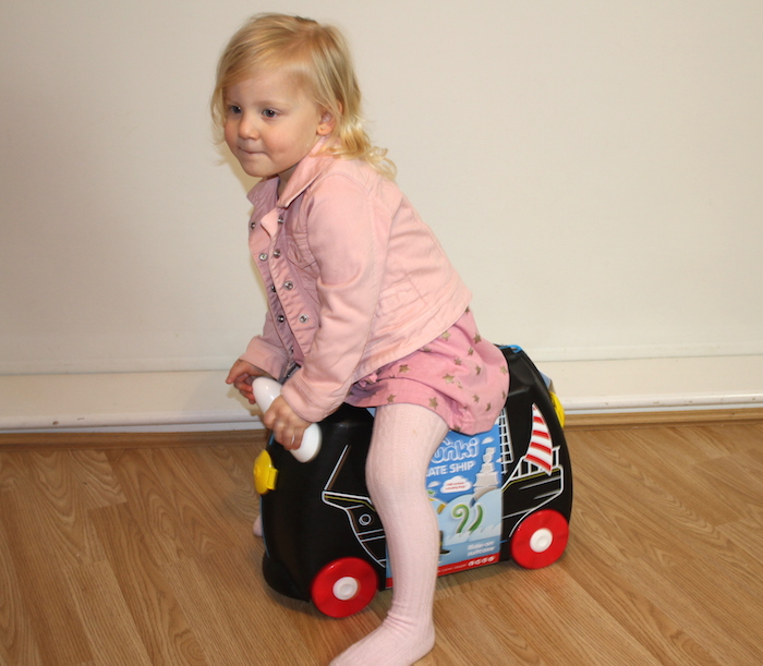 Sienna with Pedro the Pirate Ship Trunki 5