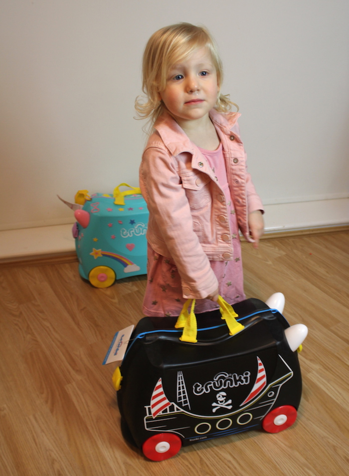 Sienna with Pedro the Pirate Ship Trunki 6