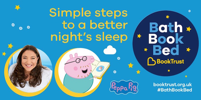 BathBookBed with Jo Frost & Peppa Pig • A Moment With Franca