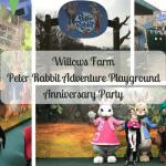 Willows Farm Peter Rabbit Adventure Playground Anniversary Party