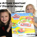 Play-Doh Kitchen Creations Sizzlin' Stovetop Review