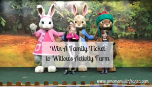 Win A Family Ticket to Willows Activity Farm