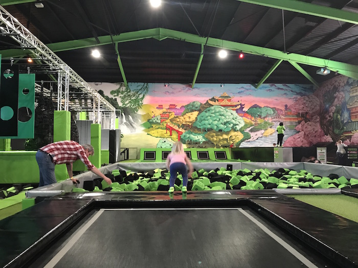 Flip Out Trampoline Park Review & Giveaway • A Moment With