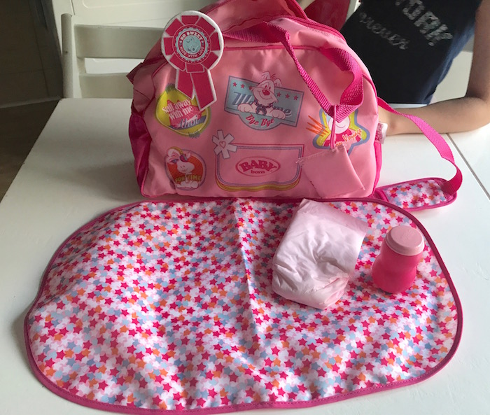 Baby Born Changing Bag For Dolls Review A Moment With Franca