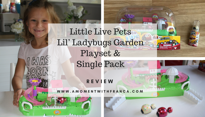 Little Live Pets Lil' Ladybugs Garden Playset & Single Pack Review
