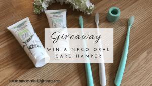 Win A NFco Oral Care Hamper
