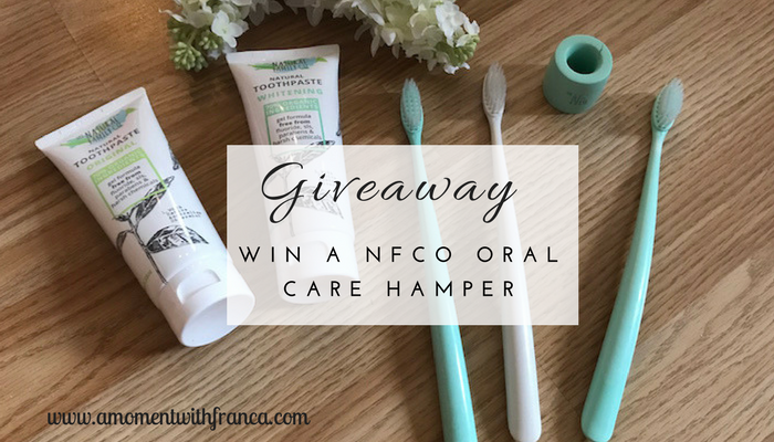 Win A NFco Oral Care Hamper