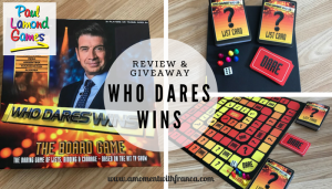Who Dares Wins Game Review & Giveaway