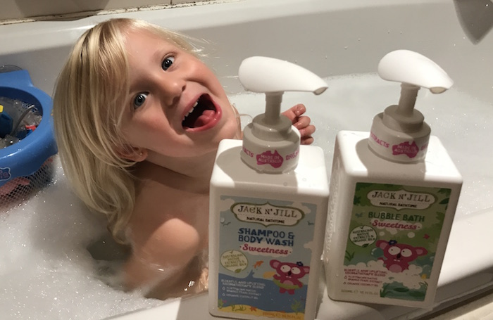 Jack N\' Jill Natural Bathtime Range & Giveaway • A Moment With Franca