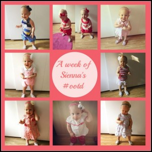 A week of Sienna's #OOTD