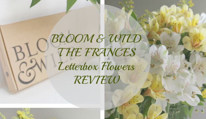 Bloom & Wild: Letterbox Flowers Review