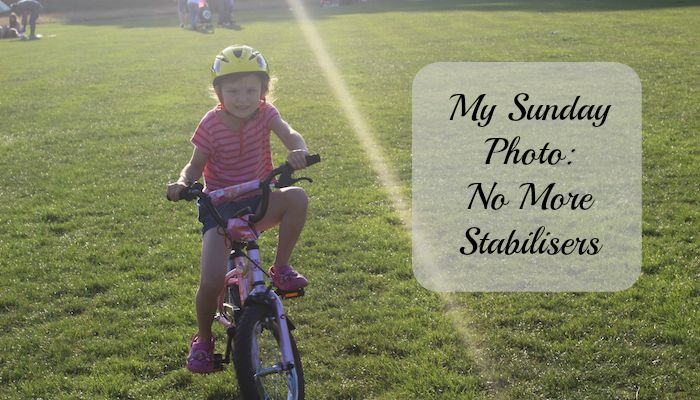 My Sunday Photo – No More Stabilisers