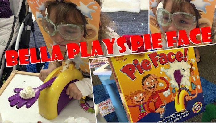 "Bella Plays ""Pie Face"""