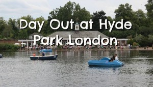 Day Out at Hyde Park in London