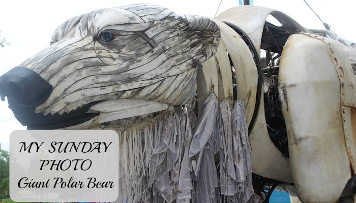 My Sunday Photo – Giant Polar Bear