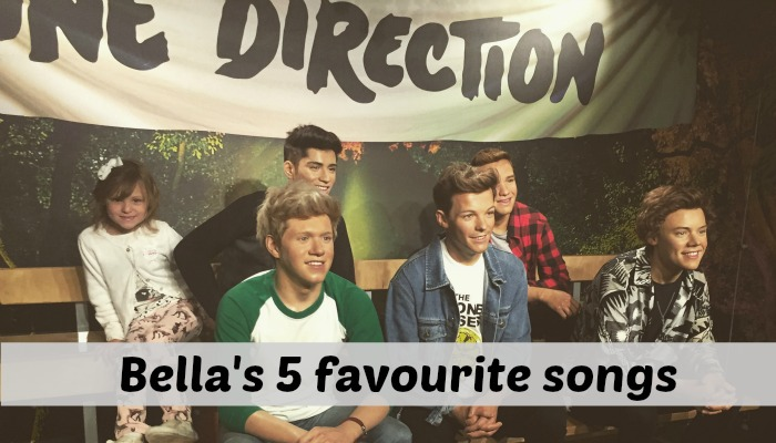 Bella's 5 favourite songs