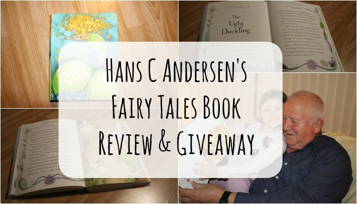 Hans C Andersen's Fairy Tales Book Review & Giveaway