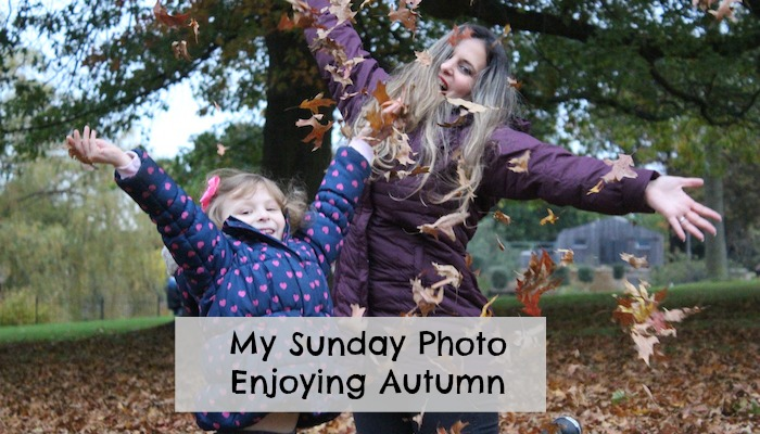 My Sunday Photo – Enjoying Autumn
