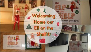 Welcoming Home our Elf on the Shelf®
