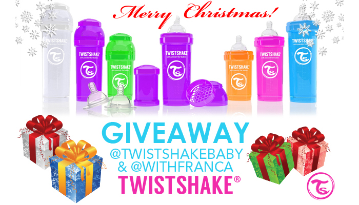 TWISTSHAKE BOTTLE SET GIVEAWAY