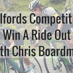 Halfords Competition -- Win A Ride Out With Chris Boardman