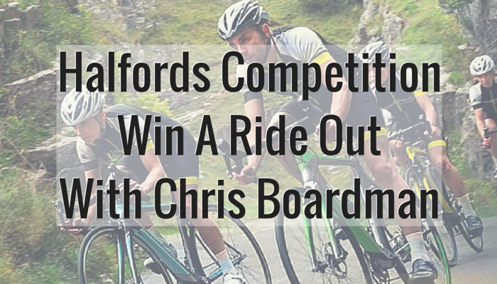 Halfords Competition – Win A Ride Out With Chris Boardman