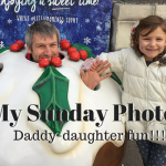 My Sunday Photo – Daddy-daughter fun!!!