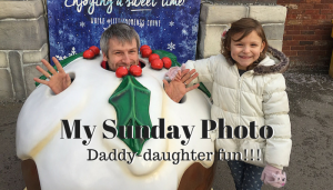 My Sunday Photo – Daddy-daughter fun!!!