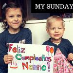 My Sunday Photo – Nonno's Birthday!