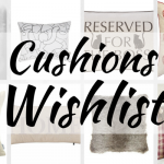 Cushions Wishlist