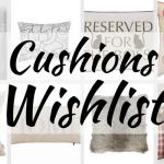 Cushions Wishlist
