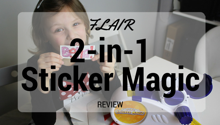 Flair 2-in-1 Sticker Magic Review
