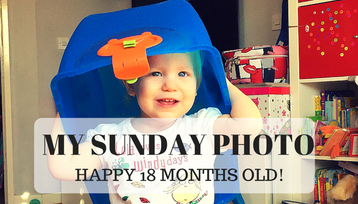 My Sunday Photo – Happy 18 Months Old!
