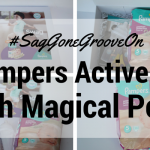 #SagGoneGrooveOn – Pampers Active Fit with Magical Pods