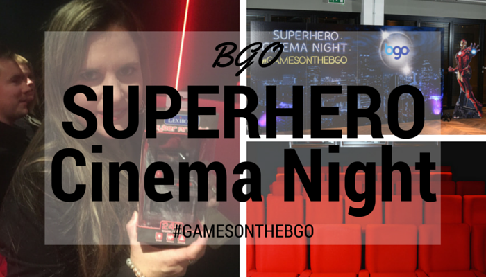 BGO Superhero Cinema Night