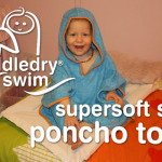 Review -- Cuddledry Swim Supersoft Swim Poncho Towel