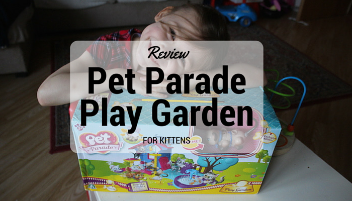 Review – Flair's Pet Parade Play Garden for Kittens