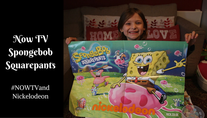 Now TV – SpongeBob SquarePants – #NOWTVandNickelodeon