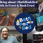 Talking about #BathBookBed with Jo Frost & BookTrust