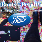 Boots #PetalParty Raising Awareness of 'Insneezia'