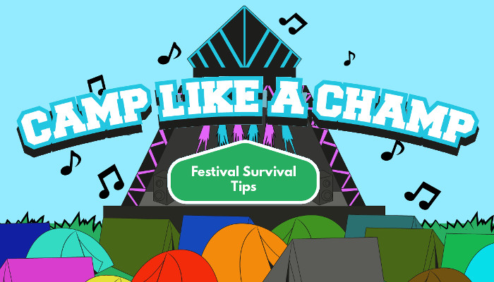 Festival Camping Survival Tips