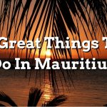 5 Great Things To Do In Mauritius