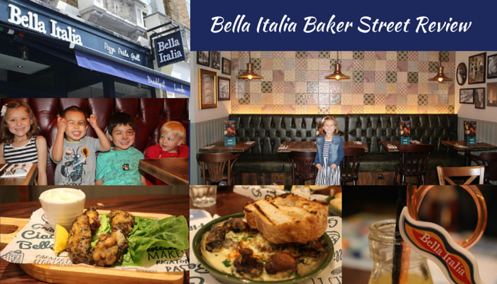 Bella Italia Baker Street Review