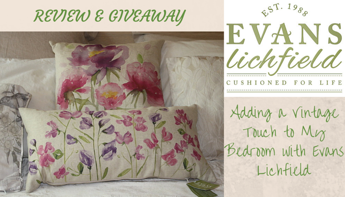 Adding a Vintage Touch to My Bedroom with Evans Lichfield