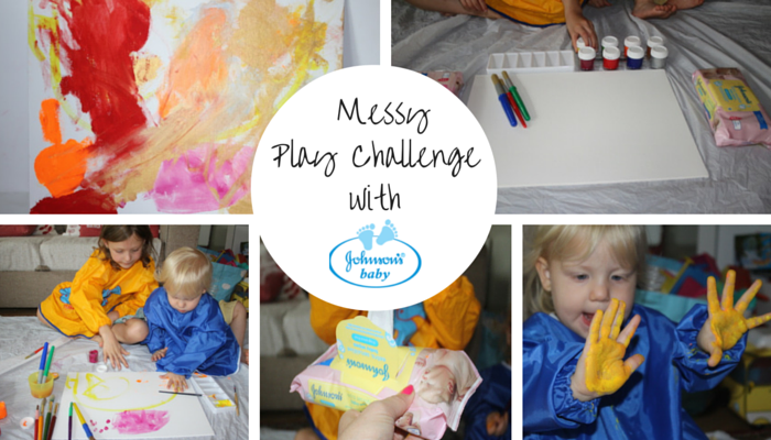 Johnson's Messy Play Challenge!