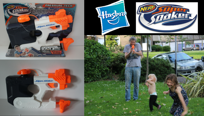 Nerf Supersoaker Squall Surge Water Gun Review