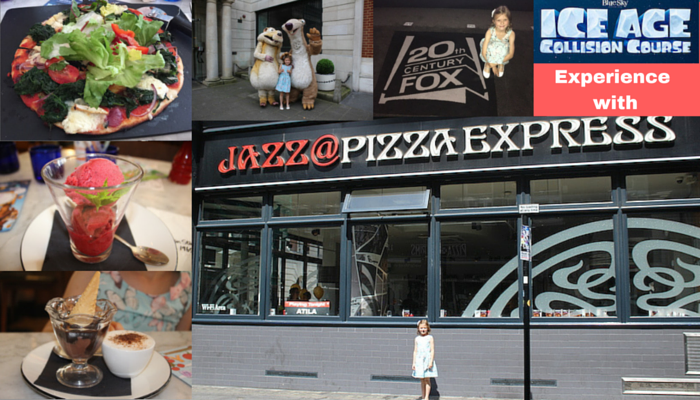 Fantastic Afternoon with Pizza Express & Ice Age Collision Course