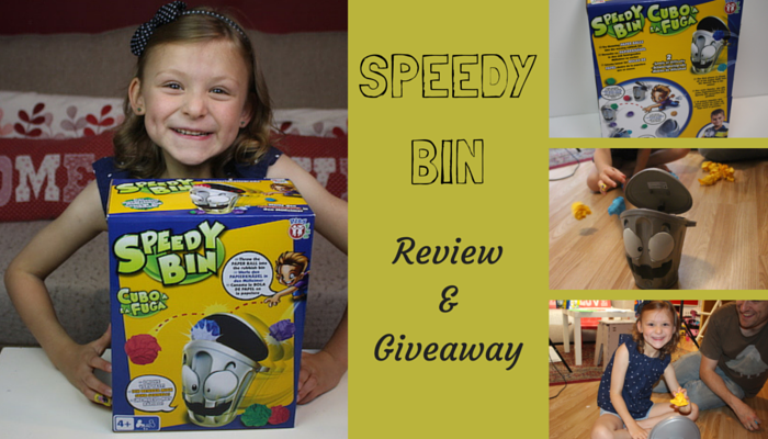 Speedy Bin Game Review & Giveaway