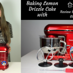 Baking Lemon Drizzle with a Savisto Stand Mixer: Review & £50 Voucher Giveaway